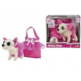 Плюшевая собачка Чихуахуа, в балетной пачке, с сумочкой (Simba)