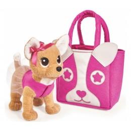 "Плюшевая собачка Chi Chi Love ""Модница"", с сумочкой в виде собачки (Simba)"