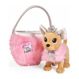 """Плюшевая собачка Chi Chi Love """"Принцесса"""", с пушистой сумкой (Simba)"""