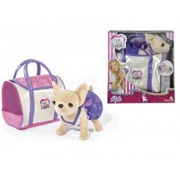 """Плюшевая собачка Chi Chi Love """"Чихуахуа в стильной сумке"""" (Simba)"""